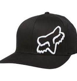 fox head FOX FLEX 45 FLEXFIT HAT [BLK/WHT] L/XL