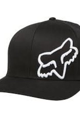 fox head FOX FLEX 45 FLEXFIT HAT [BLK/WHT] XS/S