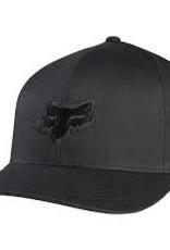 fox head FOX LEGACY FLEXFIT HAT [BLK/BLK] L/XL