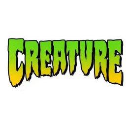 "Creature Creature Logo Sticker 2"""