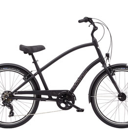 ELECTRA Townie 7D Eq Step Over 26 Tall Matte Black