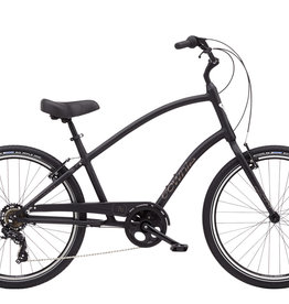 ELECTRA Townie 7D Step Over 26 Matte Black