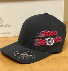 Totally Spoke'd Totally Spoke'd Delta Cap Side Logo Black S/M
