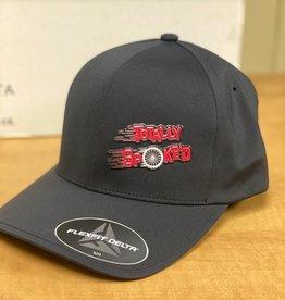 Totally Spoke'd Totally Spoke'd Delta Cap Front Logo Black S/M