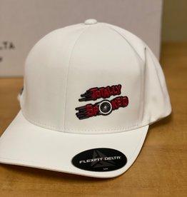 Totally Spoke'd Totally Spoke'd Delta Cap Front Logo White S/M