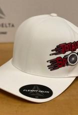 Totally Spoke'd Totally Spoke'd Delta Cap Side Logo White L/XL