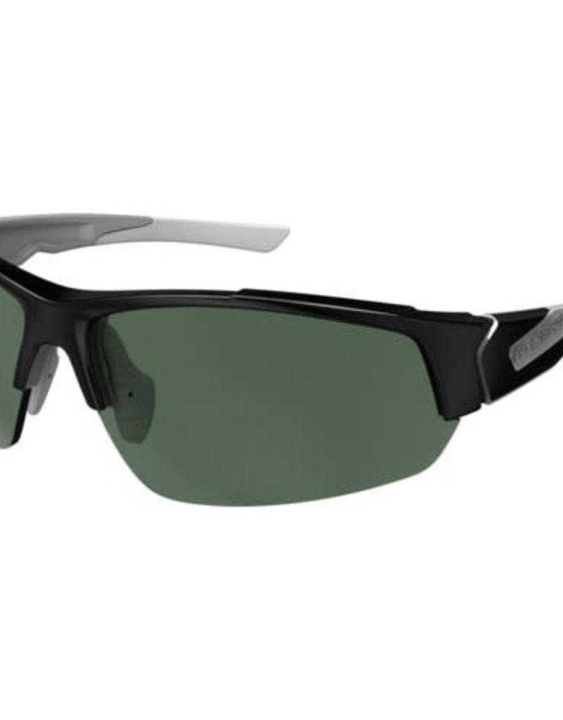 STRIDER VELO-POLAR MATTE BLACK / GREEN LENS ANTI-FOG