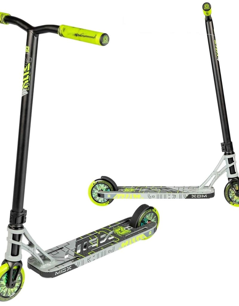 Madd Gear MGX P1 Pro Scooter Grey/Green
