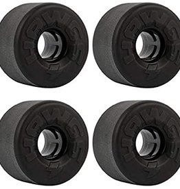 hawgs Easy Hawgs 63mm Black Stone-Ground 78a Wheels (set of 4)