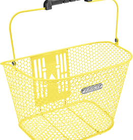 ELECTRA Basket Electra Honeycomb QR Pineapple Yellow Front