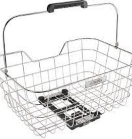 ELECTRA Basket Electra Stainless Wire MIK Polished Silver Rear