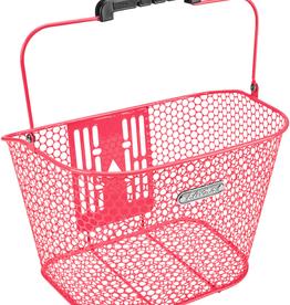 ELECTRA Basket Electra Honeycomb QR Hot Pink Front