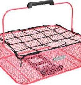 ELECTRA Basket Electra Honeycomb Low Profile MIK Hot Pink Rear