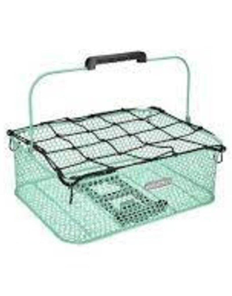 ELECTRA Basket Electra Honeycomb Low Profile MIK Mint Green Rear