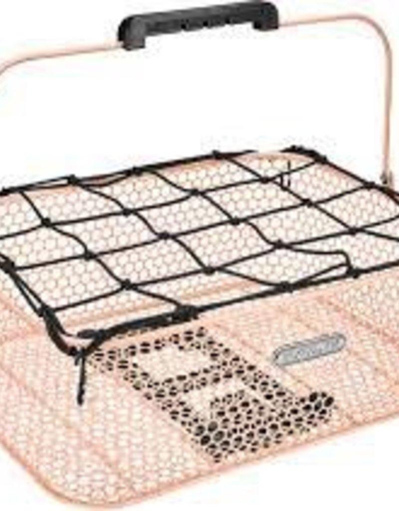 ELECTRA Basket Electra Honeycomb Low Profile MIK Blush Pink Rear