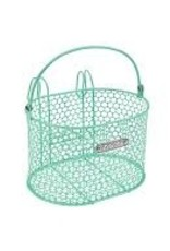 ELECTRA Basket Electra Honeycomb Small Hook Front Mint Green