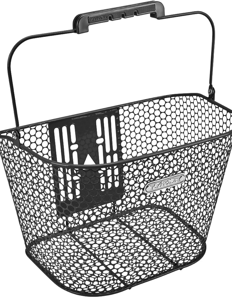 ELECTRA Basket Electra Honeycomb QR Black Front