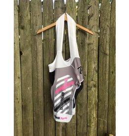 LOGICA SPORT Biemme 'BWB' Bib Short V3 White/Pink XL
