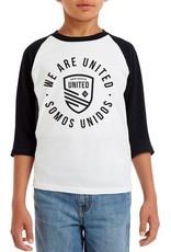 Somos Unidos Youth Unisex Baseball Long Sleeve Tee