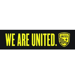 We Are United Bumper Sticker