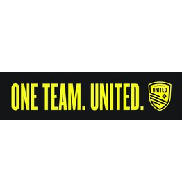 One Team United Bumper Sticker