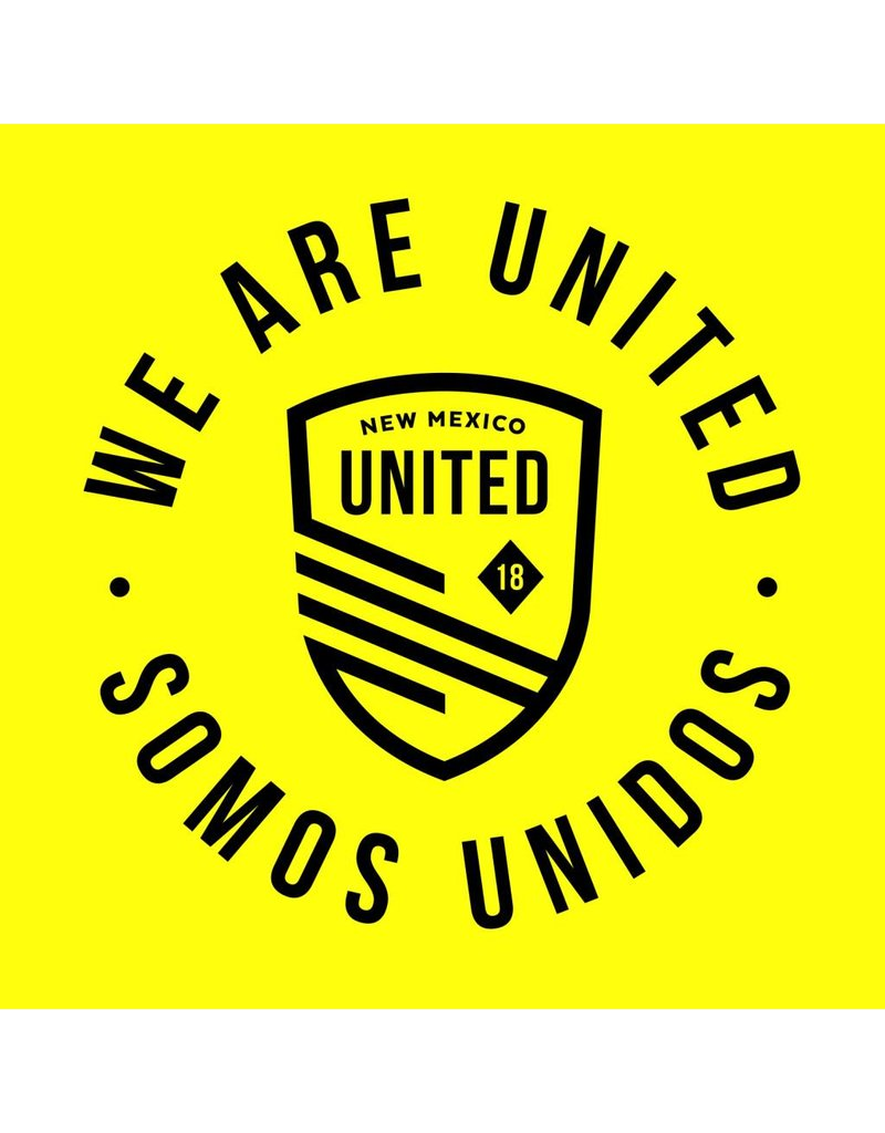 Somos Unidos Badge Car Magnet