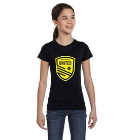 United Yellow Shield Girl's Tee