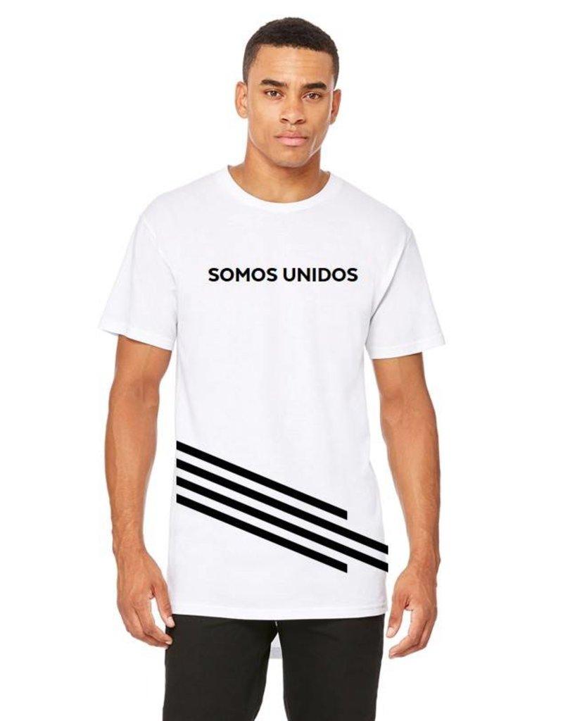 Somos Unidos Zia Long Body Men's T-Shirt
