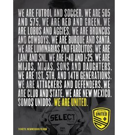 United Statement Poster