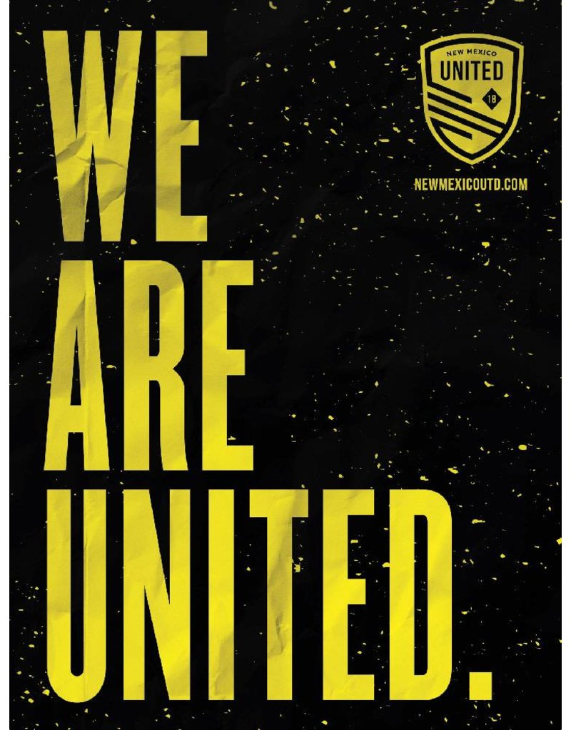 We Are United Poster