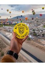 Somos Unidos Badge Car Magnet