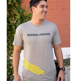 Somos Unidos Zia Long Body Men's T-Shirt