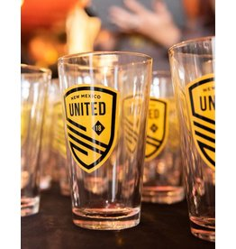 New Mexico United Pint Glass