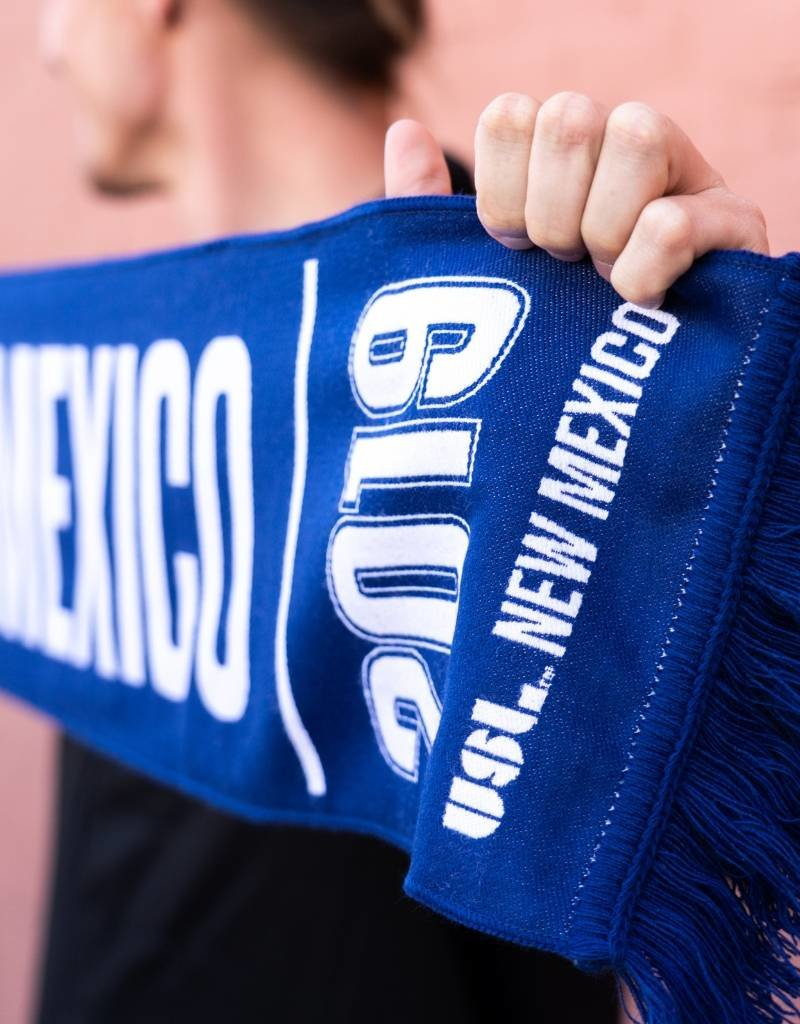 Limited Edition USL New Mexico Franchise Scarf