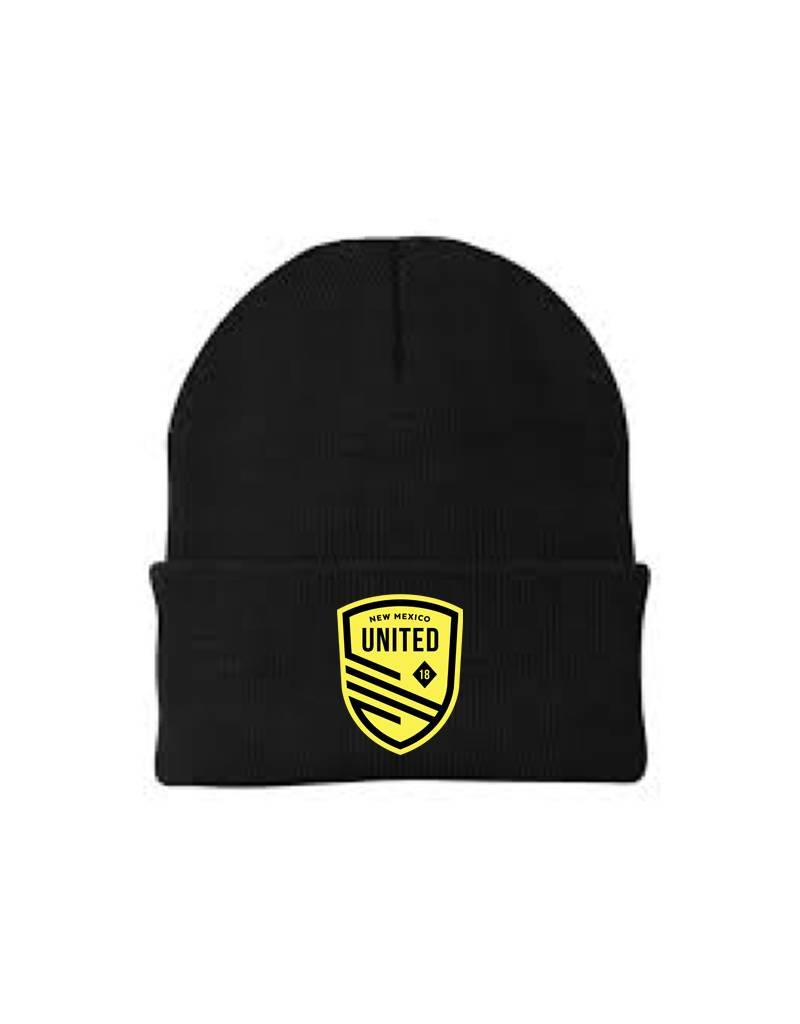 Embroidered United Shield Winter Beanie