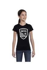 United White Shield Girl's Tee