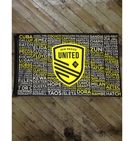 New Mexico United Official Club Flag