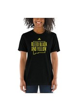 Bleed Black & Yellow Adult Unisex T-Shirt