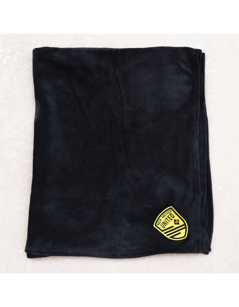 United Embroidered Plush Blanket
