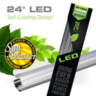 "SunBlaster SUNBLASTER 24"" LED 6400K 24W 48LEDS W/CORD"
