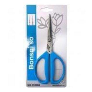 GIROS GIROS SEC-0503 BLUE BONSAI SHEARS LONG BLADE W/SOFT HANDLE