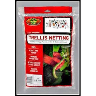 American Nettings & Fabrics TRELLIS NETTING 6.5' X 20' SQUARE CLEAR MESH