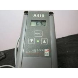 JOHNSON CONTROLS JOHNSON CONTROLS A419 THERMOSTAT FOR AC 24V