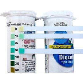 GARD'N CLEAN GARD'N CLEAN CHLORINE DIOXIDE HIGH RANGE TEST STRIPS