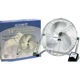 GLACIER GLACIER HIGH VELOCITY FLOOR FAN 14""