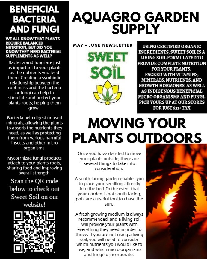 AQUAGRO COMMUNITY NEWSLETTER - ARE YOUR PLANTS GETTING THE RIGHT BACTERIA? (MAY-JUNE EDITION)