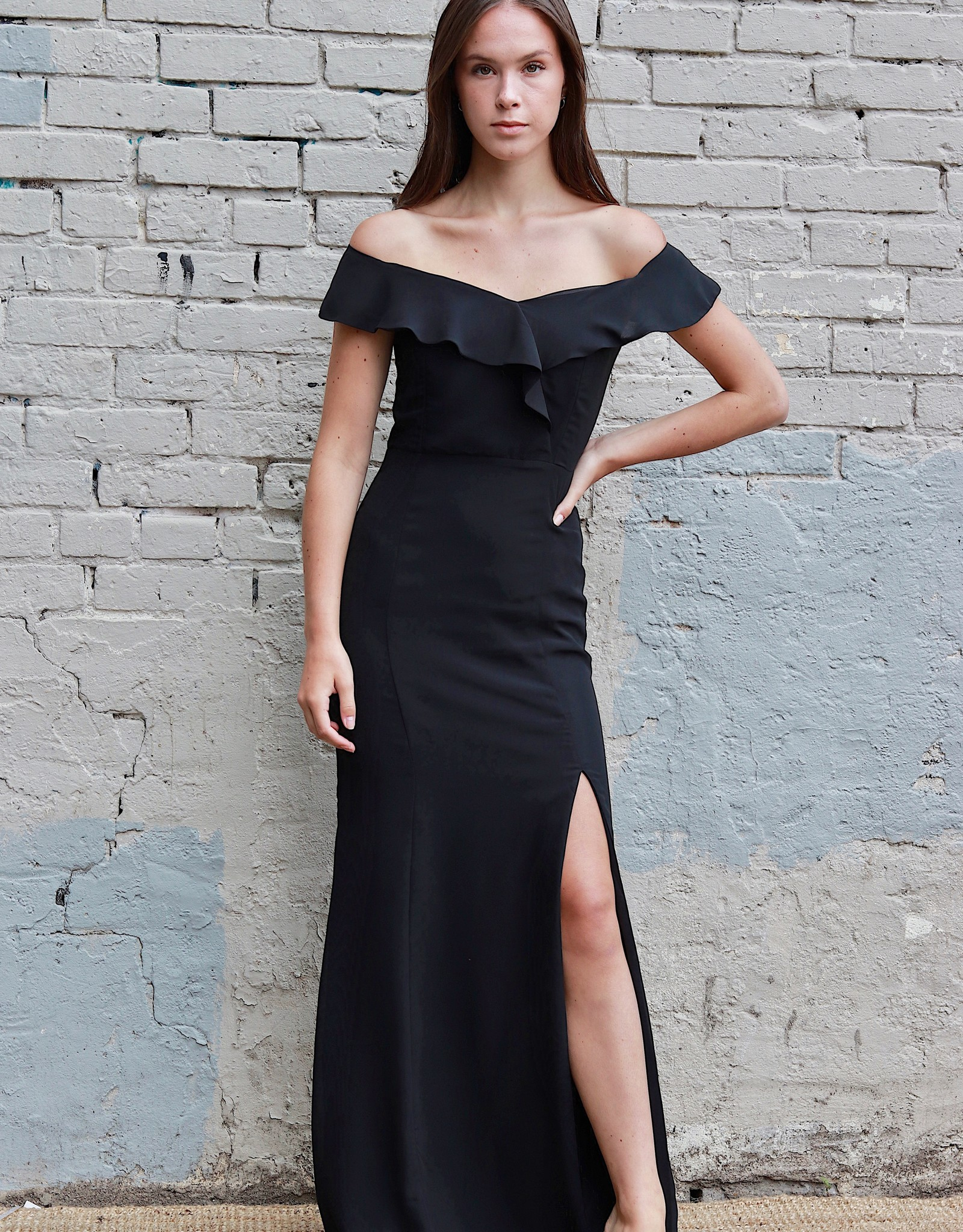 HUSH COLLECTION Off the shoulder bodycon dress
