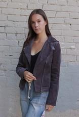 LISTICLE Corduroy moto style jacket