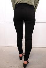 HUSH High rise classic skinny twill pant