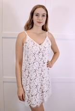 HUSH Lace cami dress